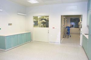 Krankenhaus Olomouc / LINO Elektrostatik
