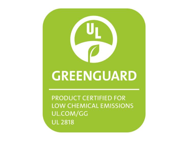 Kunststoffbelag WELL-click hat die Zertifikation Greenguard erworben